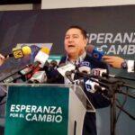 Javier Bertucci: soy el único candidato que puede garantizar la gobernabilidad del país