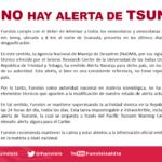 """Funvisis dice que """"no hay alerta de tsunami"""" en Venezuela"""