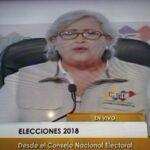 Lucena anunció que Nicolás Maduro ganó la elección presidencial