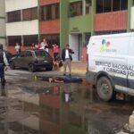 Padre e hijo fueron asesinados de múltiples disparos en el sector Pascal