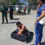 Cumanesa intentó sacar a un preso de la cárcel en una maleta