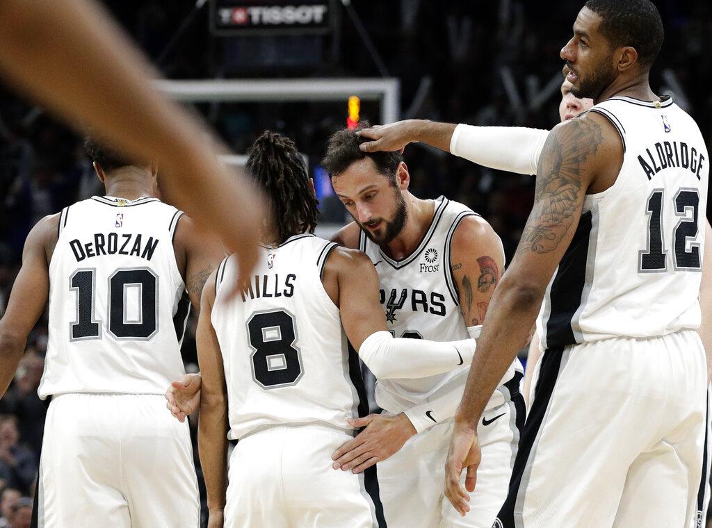 Liderados por LaMarcus Aldridge, Spurs derrotaron a Celtics