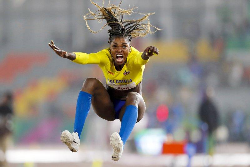 La colombiana tuvo una inflamación en la planta del pie / Foto: AP