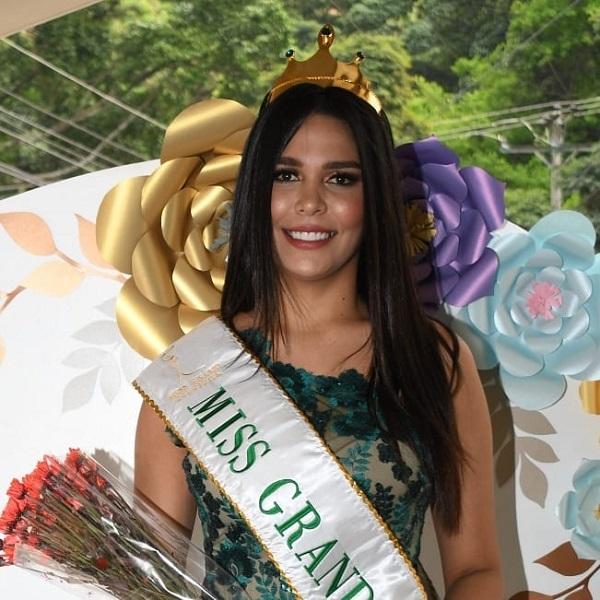 Nueva Miss Grand Colombia 2019 -  Génesis Quintero (reemplazo)  Sthepnanimissgrand