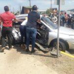 Una mujer falleció en colisión de vehículos frente a la Iglesia San Jorge