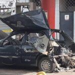 Dos heridos dejó explosión de bombona de gas doméstico instalada en un automóvil en Puerto La Cruz