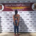 GNB capturó a una mujer solicitada por homicidio